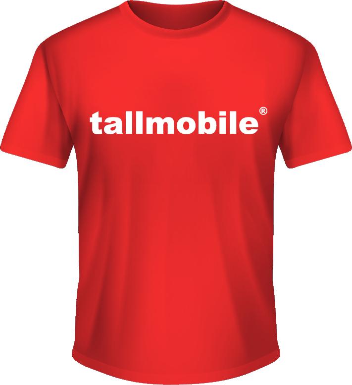 camiseta tallmobile